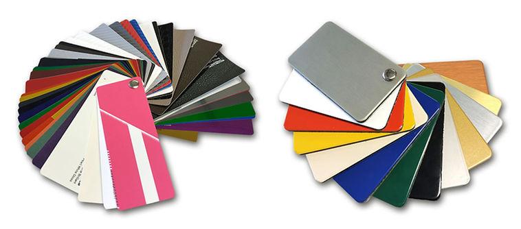 Nuanciers de couleurs & matières