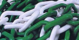 Chaine plastique verte