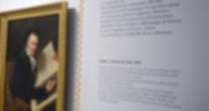 La méthode transfert de sérigraphie permet d'appliquer directement sur les murs ou le mobilier des textes fins.