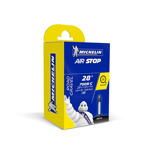 Michelin Airstop Road Inner Tube - 700c x 25-32mm (Presta 40mm)