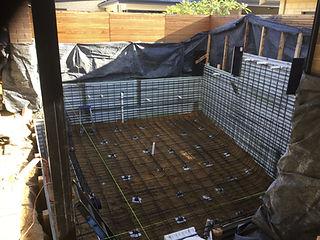 Ocean Blu Concrete Pool Construction - Excavation & Formwork.