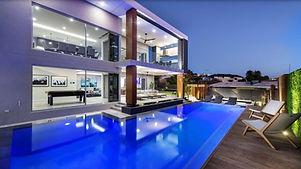 pool, fence, blue,swimming,luxury