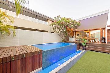 Concrete Pool Construction - Landscape Design