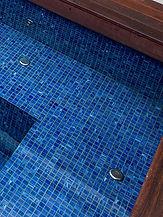 Ocean Blu Concrete Pool Construction - Tiling