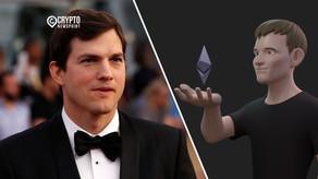 Ashton Kutcher Uploads A Video Featuring Vitalik Buterin Explaining Ethereum