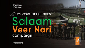 OroPocket announces 'Salaam Veer Nari' campaign to support the wives of our brave Martyrs