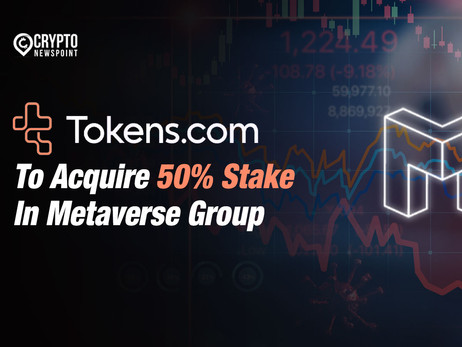 Tokens.com To Acquire 50% Stake In Metaverse Group