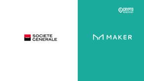 Société Générale Turns To MakerDAO To Propose Bond Tokens For $20M DAI Loan