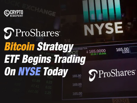 ProShares' Bitcoin Strategy ETF Begins Trading On NYSE Today