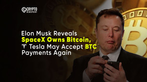 Elon Musk Reveals SpaceX Owns Bitcoin, Tesla May Accept BTC Payments Again
