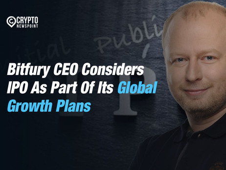Bitfury CEO Considers IPO As Part Of Its Global Growth Plans