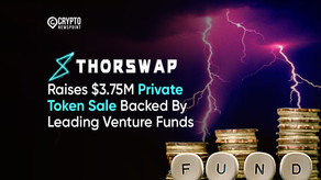 THORSwap Raises $3.75M Private Token Sale Backed By Leading Venture Funds