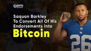 Saquon Barkley To Convert All Of His Endorsements Into Bitcoin