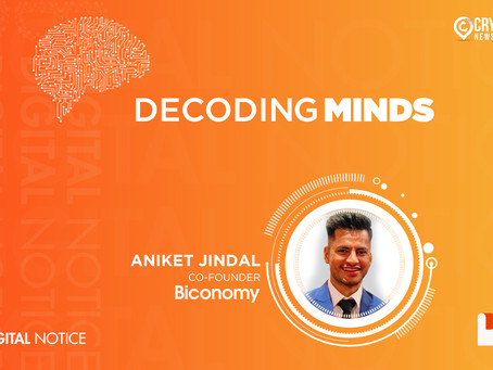 DECODING MINDS – An Interview With Aniket Jindal, Co-Founder, Biconomy