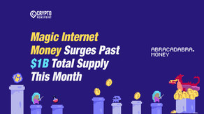 Magic Internet Money Surges Past $1B Total Supply This Month