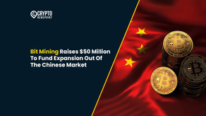 Bit Mining Raises $50 Million To Fund Expansion Out Of The Chinese Market
