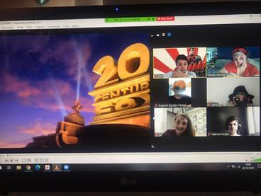 Movie times em aulas online 2020.