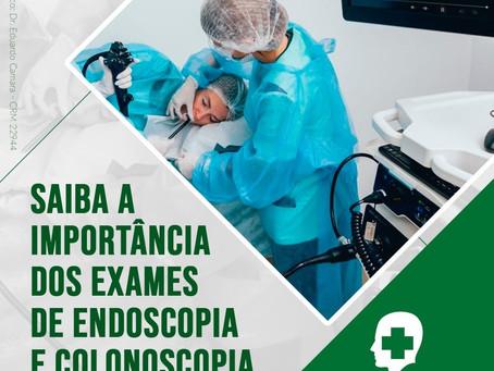 Qual a importância dos exames de Endoscopia e Colonoscopia?