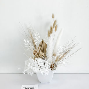 Sincerely, me - dried flowers