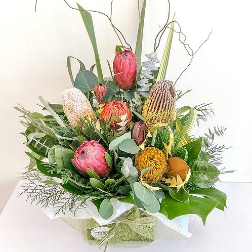 Spoil mum - large native arrangement