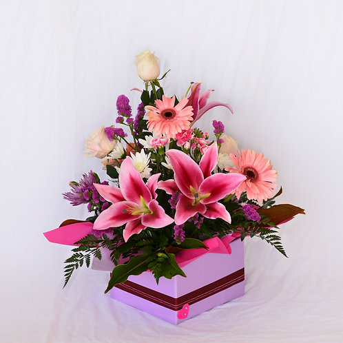 Large box of mixed flowers #10325