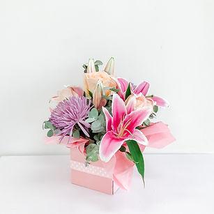 Pink box
