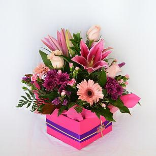 Premium box of mixed flowers