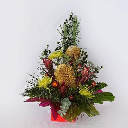 Large Australian Native and wildflower arrangement