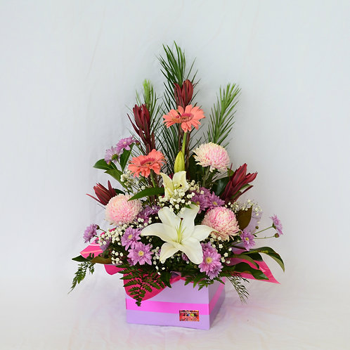 Large box of mixed flowers #10331