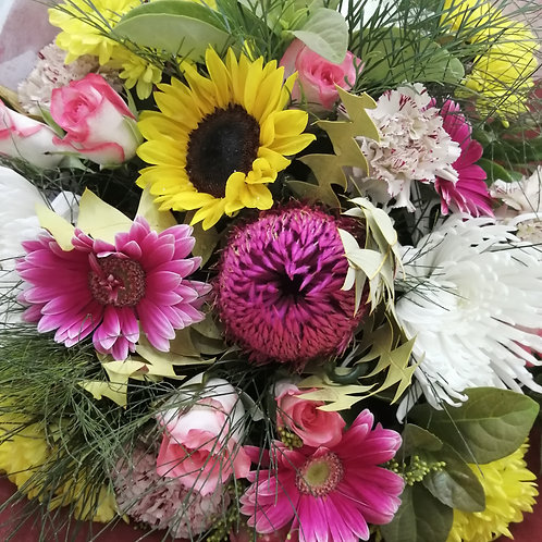 bright mixed bunch