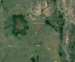 Kitale Map