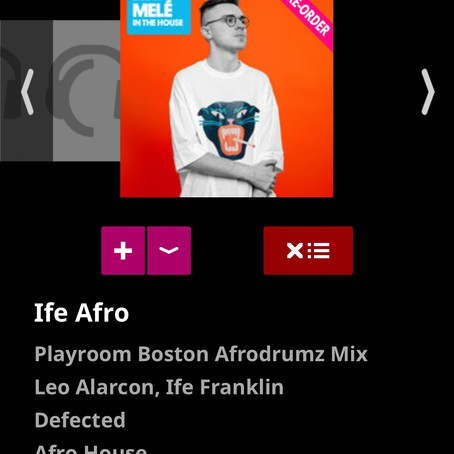 IFE AFRO - LEO ALARCON FEAT. IFE FRANKLIN RELEASED ON DEFECTED