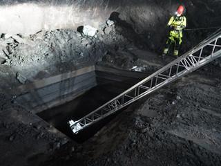 Scanning mines