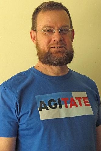 """AGITATE T-shirt """"Sunscreen"""""""