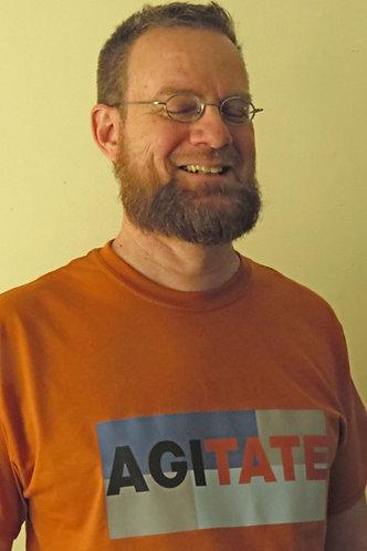 "AGITATE T-shirt ""Texas Sunscreen"""