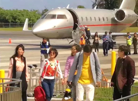 Great News! Tinian International Airport welcomes its first international flight!