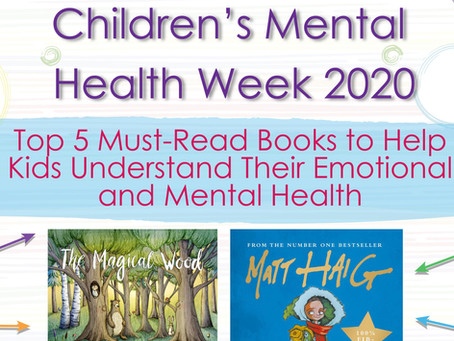 Top 5 Must-Read Books to Help Kids  Understand Their Emotional and Mental Health 📚📖📕