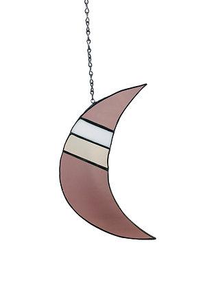 Crescent Moon- purple
