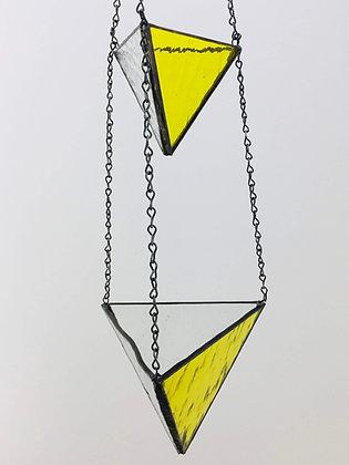2 Tier Medium and Large Hanger- yellow