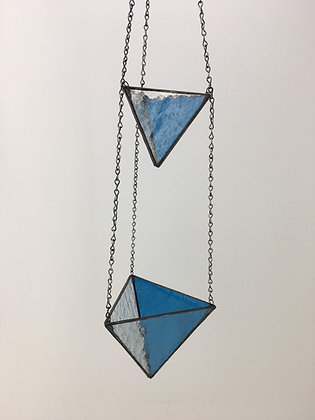 2 Tier Medium and Large Hanger - teal blue