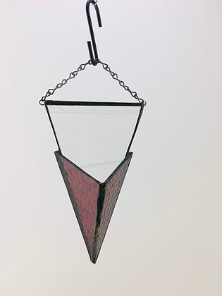 Flat Triangle Hanger - purple