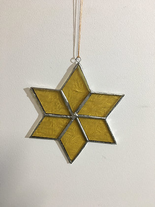 Snowflake - glue chip gold