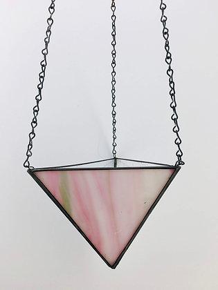 Large Hanger - pink swirl