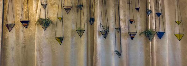 Hangers on Display Evening