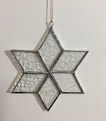 Snowflake - textured clear