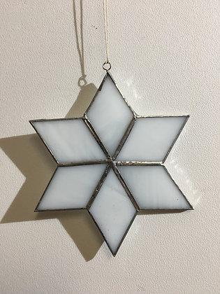 Snowflake - white