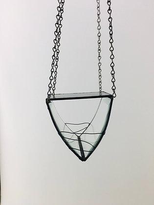 Curved Beveled Design -  grey top