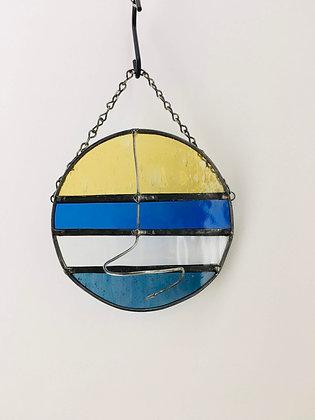 Round Hanger - blue