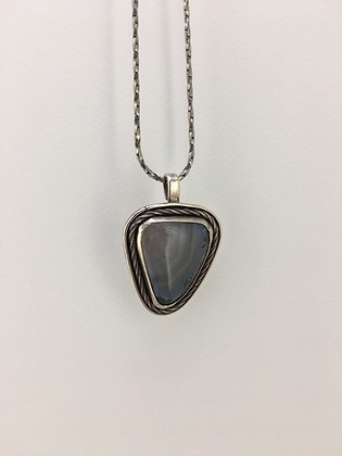 Sterling Silver and Agate