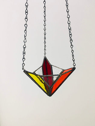 Fancy Hanger - red/yellow/orange